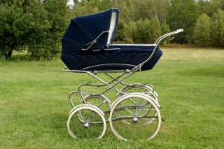 Vintage Giuseppe Perego Stroller - Made In Italy photo