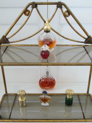 Bronze Regency Shelf Tiered Scrolled photo