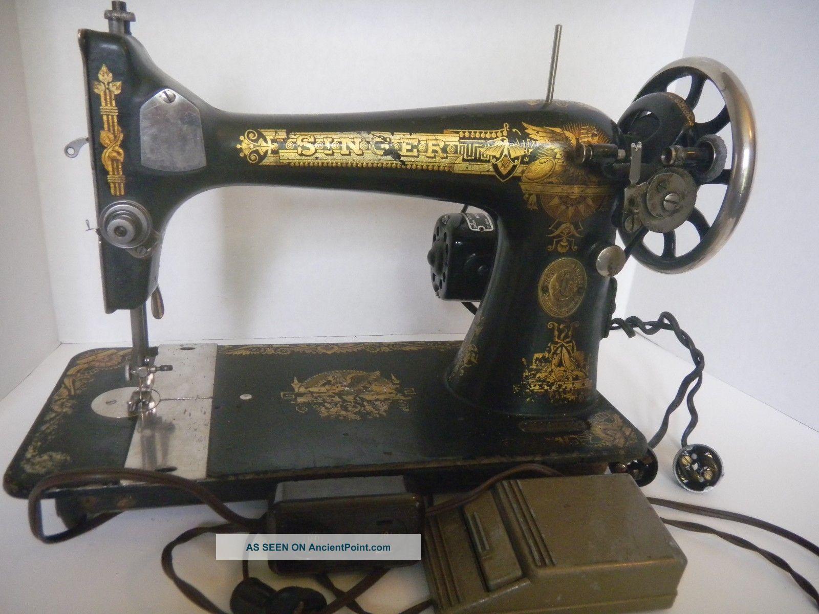 singer sewing machine model 127 value