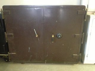 Antique Schwab Floor Safe photo