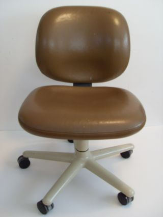 Vintage Herman Miller Bill Stumpf Leather Ergon Swivel Task Chair 1976 Asid Awd photo
