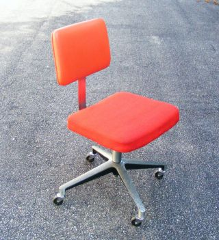 Vintage Art Metal / Knollcorp Mid Century Modern Early Production Task Chair By photo