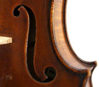 Fine,  Late Cremonese Composite,  19th Century Antique Italian Violin - photo