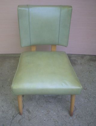 Viking Artline 1950s Mid Century Vintage Modern Vinyl Tv Chair photo