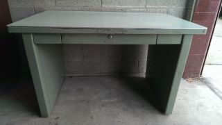 Vintage Industrial Steel Desk From Art Steel photo