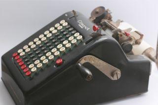 Smith & Corona Portable Adding Machine Circa 1920 (ka 57670) photo