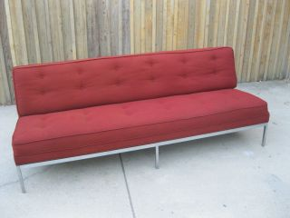 Mid - Century Modern Knoll,  Eames Style Sofa photo