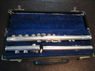 Haynes & Schwelm Co.  1922 (serial 6707) Sterling Silver Professional Flute photo
