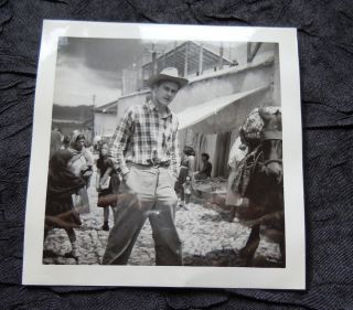 Photo Album With 107 Photos - Mexico With Orchid Hunter Clarence Horich - 1953 photo