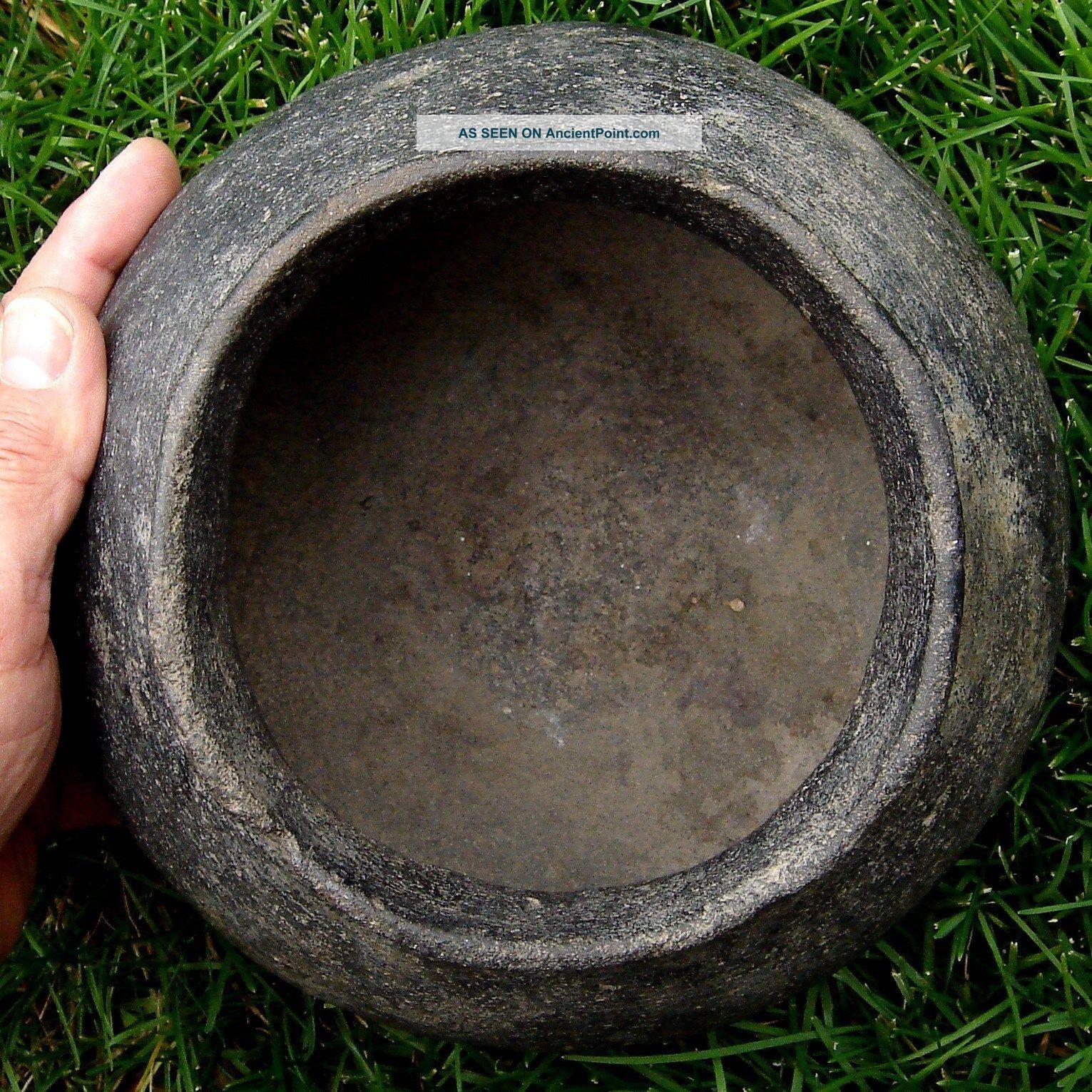 Pot,  Globular: Moundbuilder.  Tennessee,  Near Duck River Temple Mound Site. Native American photo