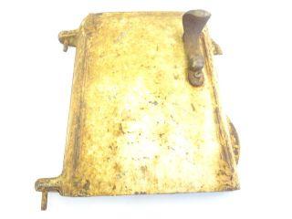 Antique Old Metal Cast Iron Glenwood E508 1905 25 Woodstove Heater Front Door photo