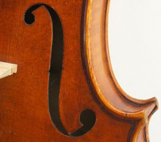 Exceptional Antique Markneukirchen German Violin - Albert Knorr C.  1920 - photo