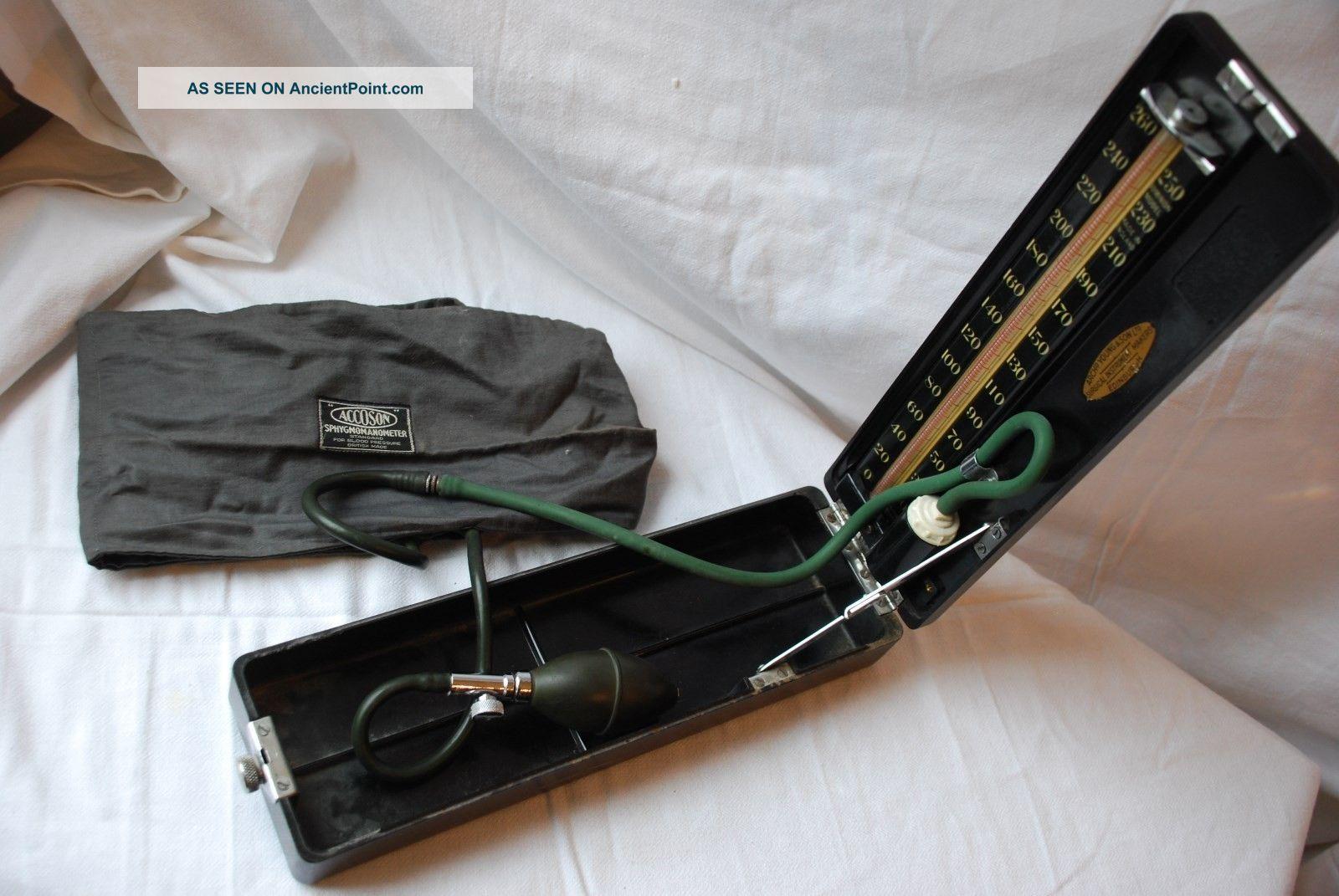 Vintage Accoson Sphygmomanometer