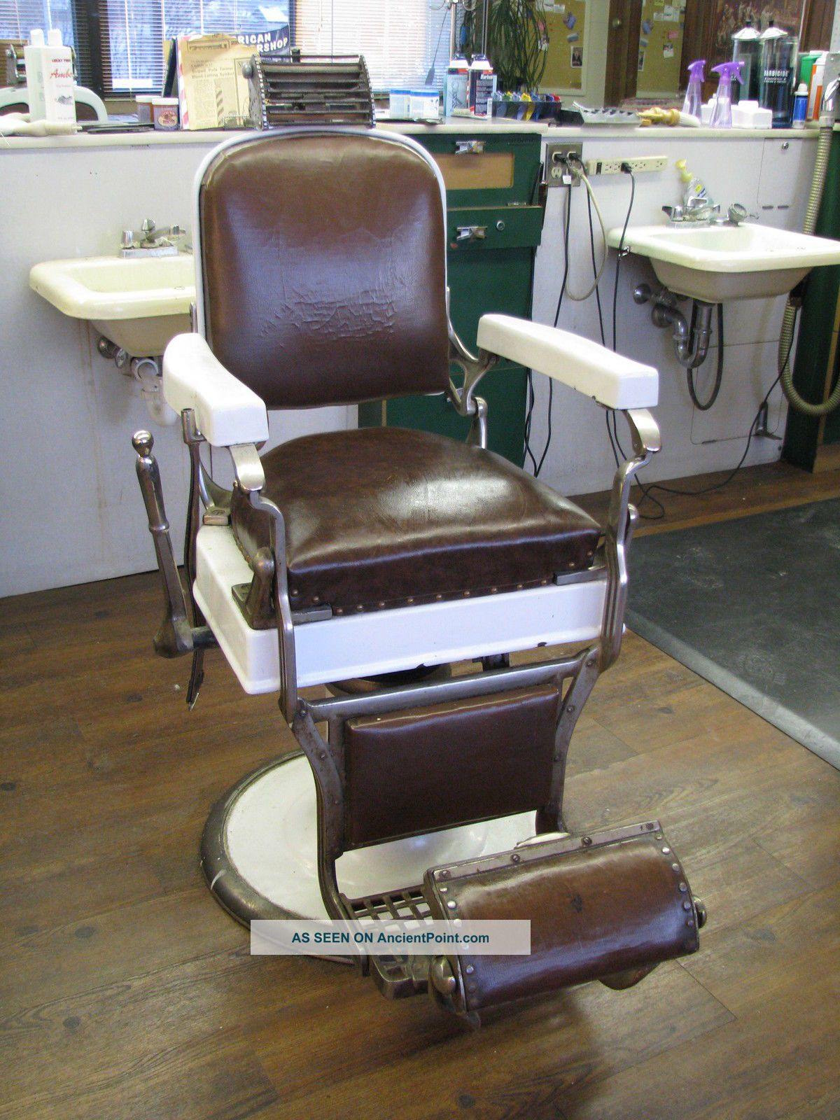 Antique barber chairs koken - Antique Barber Chairs Koken 43