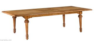 Dining Table Solid Walnut Transitional Style Handmade 90