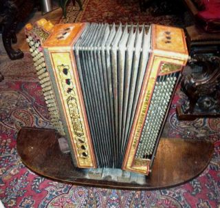 Antique Scandalli Pnumatic Accordion Nickelodeon Band Organ Orchestrion photo