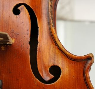 Good And Interesting Antique American Violin,  Excellent Tone - photo