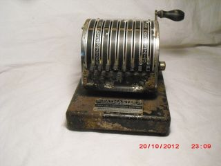 Vintage Model Y Paymaster Check Writer Ribbon Writer Check Embosser photo