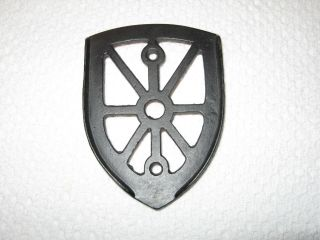 Wrought Iron Trivet photo