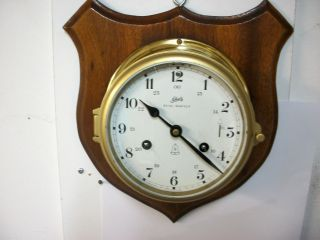 Vintage German Schatz Royal Mariner Ships Clock Working And Service. photo