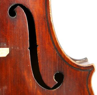 Very Interesting Antique American Violin By Ulbrich - Tatter - C.  1910,  Excellent photo