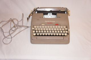 Vintage Smith Corona Typewriter 5te 1st Portable Electric Non Working photo
