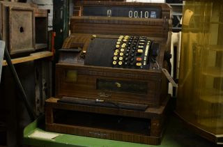 Vintage National Cash Register photo
