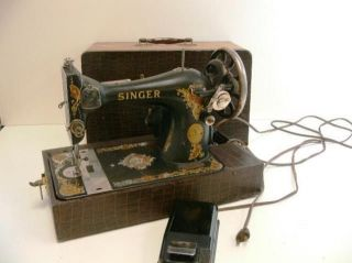 1924 Model 66 Singer Sewing Machine Aa478239 photo