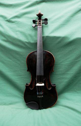 Old Antique Carolus Columbus Bruno Anno 1913 Italian 4/4 Violin photo