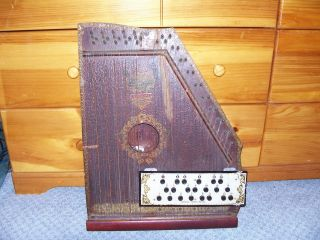 Antique American Mandolin Harp Special Panama Model 1915 photo