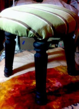 Piano Stool,  C1900.  Cut Down,  Handy 12