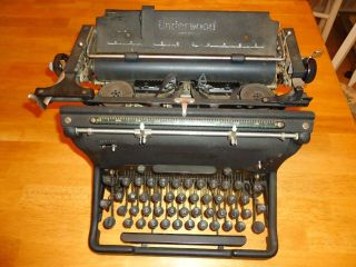 Antique Underwood Standard Typewriter photo