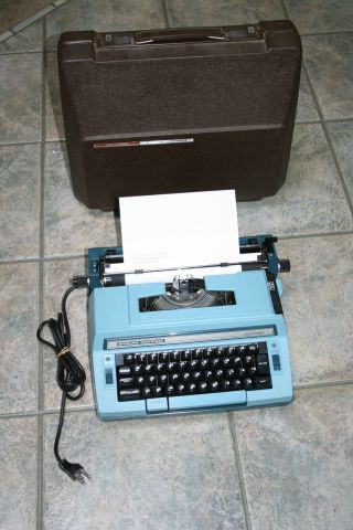 Vintage Smith Corona Sterling Cartridge Electric Typewriter Model 3lrl. photo