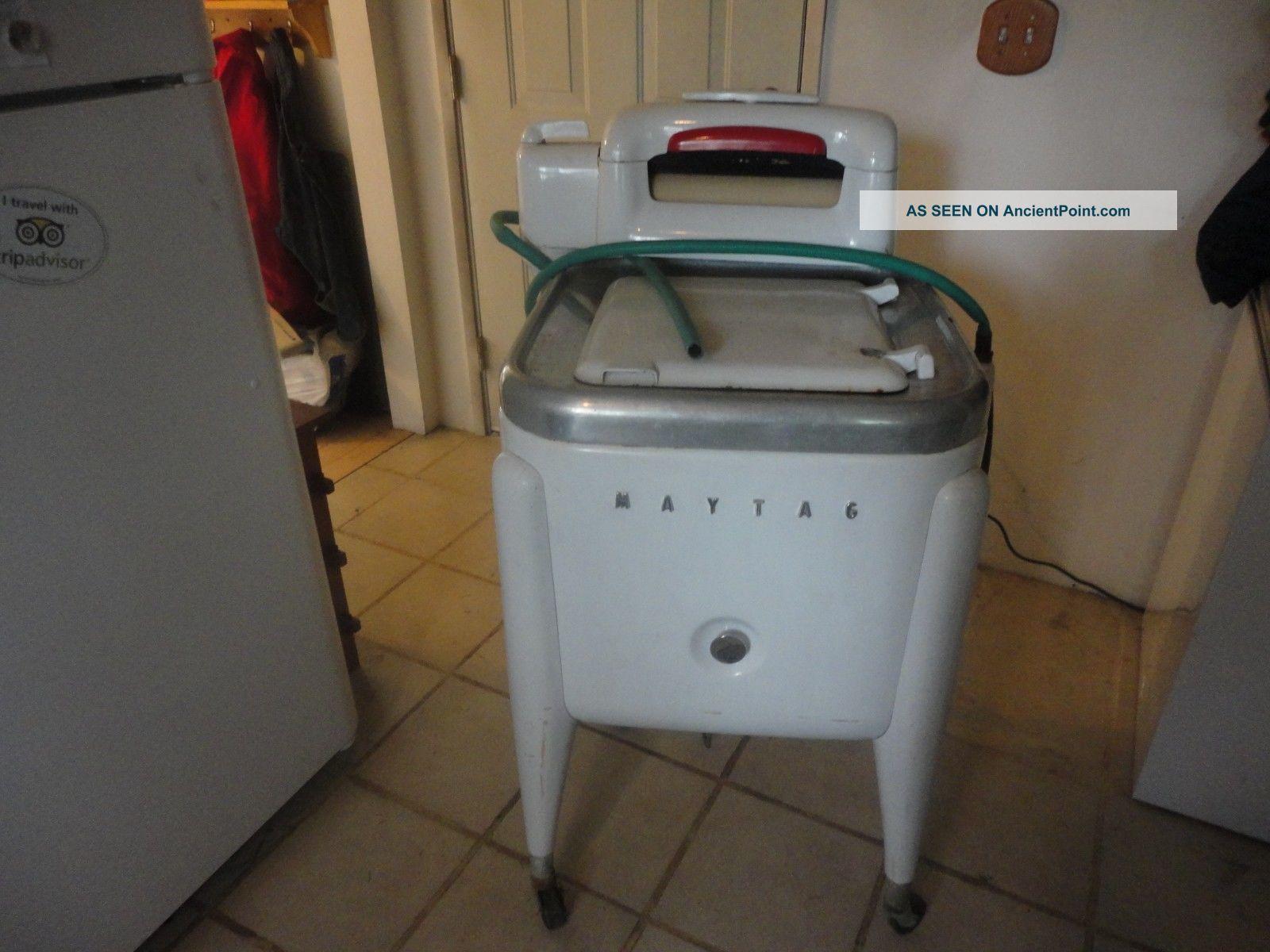 1939 Maytag Gyrator Wringer Washer,  Works Washing Machines photo