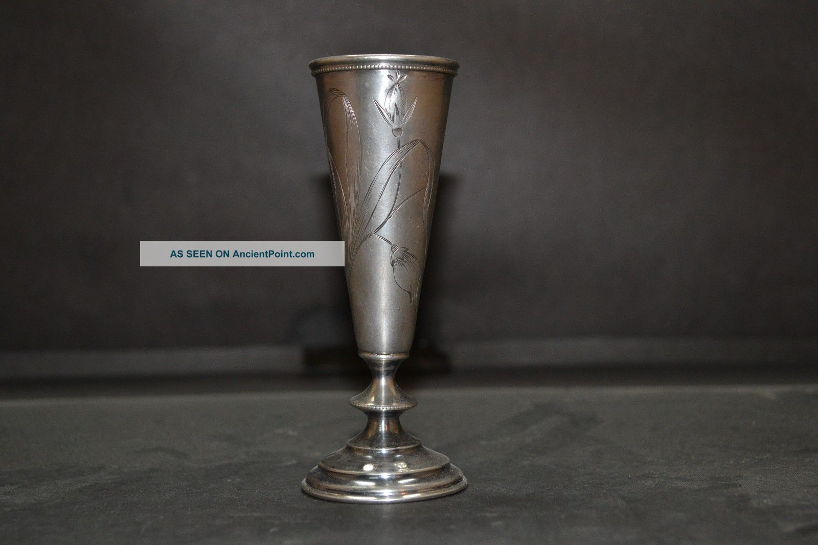 Judaica Russian Silver 84 Goblet Kiddush Cup Russia photo