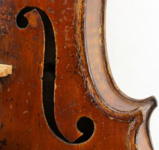 Wonderful Old Antique Violin,  Grafted Neck,  19th Century, photo