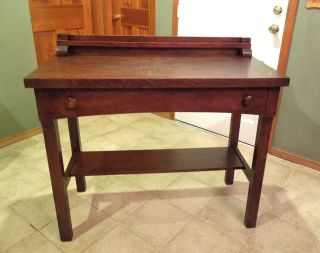 To Nyc/nj/eastern Pa Area Mission Tiger Oak Server,  Buffet,  Stickley? photo