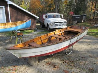 Monhegan Skiff Row Boat photo