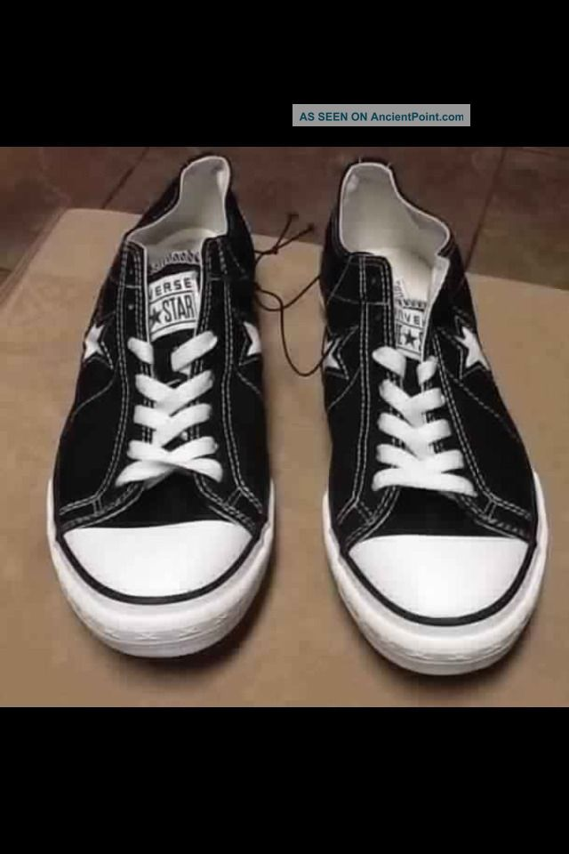 Women S Athletic Shoe Converse One Star Black Sneaker Size 11 New Un
