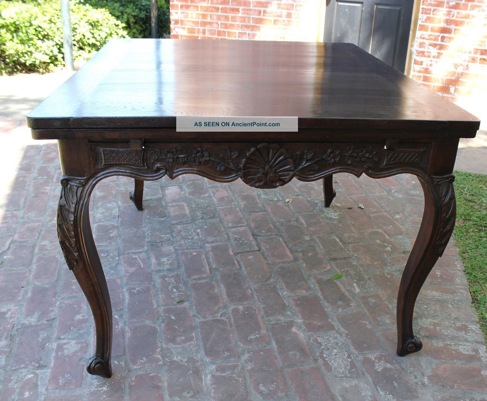 Wonderful French Antique Louis Xv Solid Oak Dining Table 1800-1899 photo 3 1600 x 1316 · 322 kB · jpeg