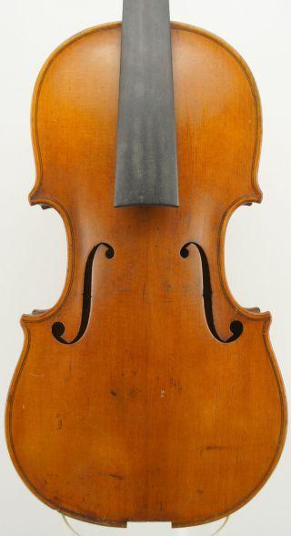 A Fine Composite Boston School Antique American Violin - Ira White/wyman Moore photo