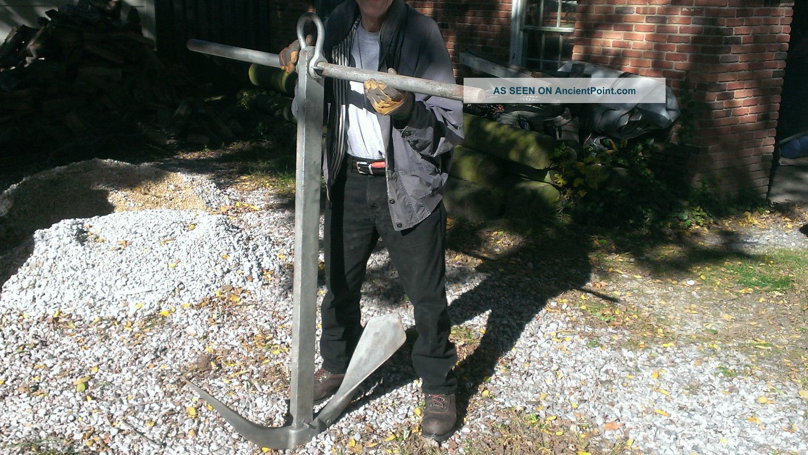 Herreshoff Anchor From Thistle103 ' Bronze Hull W/amazing Prevenance Collection;} Anchors photo