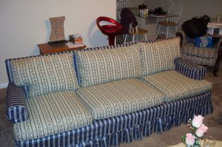 Old Sofa; Strong Fabric Material In Great Shape photo