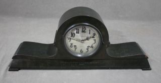 Antique Chelsea,  Bigelow Kennard & Co.  Boston,  Bronze Mantle Clock,  Nr photo