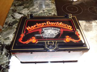 Harley Davidson Antique Strong Box photo
