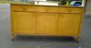 Vintage 1960 ' S Modern Credenza By Young Modern photo