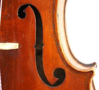 Gorgeous Antique French Viola, ,  Ready - To - Play,  C.  1890 photo