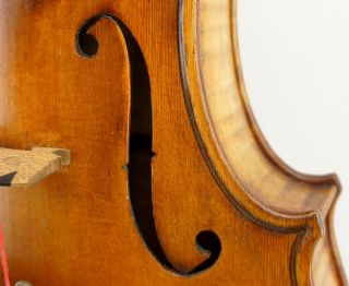 Very Interesting, ,  Handmade Antique Violin - C.  1909, photo