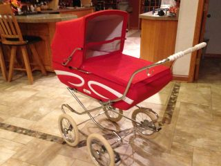 Giuseppe Perego Italian Vintage Pram/carriage/buggy photo