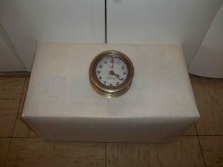 Harwich Marine Brass Clock Housing photo